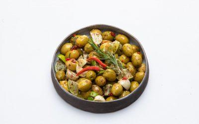 Würzige Chili-Oliven